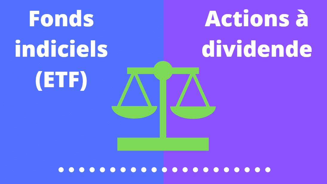 ETF ou action à dividende : que choisir ?